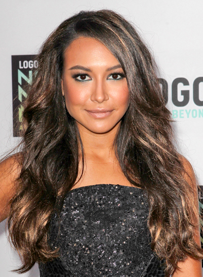 Naya Rivera's Long, Brunette, Wavy, Romantic Hairstyle