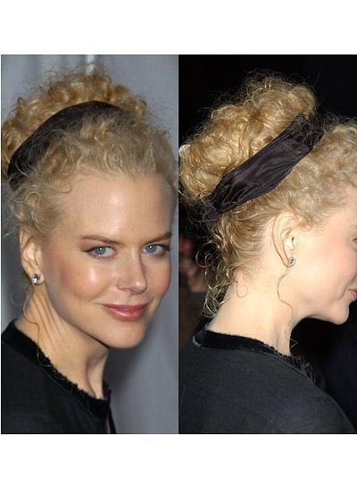 Nicole Kidman Curly Updo