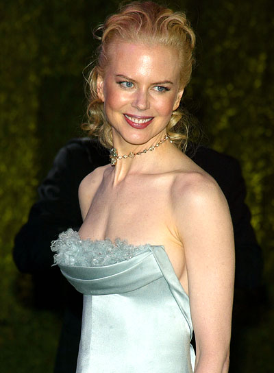 Nicole Kidman Curly, Wedding Hairstyle