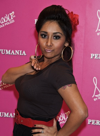 "Nicole ""Snooki"" Polizzi Chic, Party, Black Ponytail"