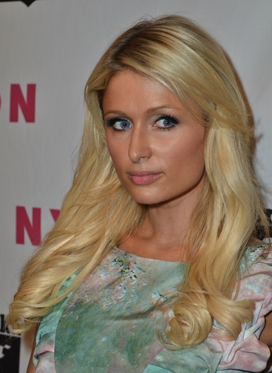 Paris Hilton Blonde Hairstyle