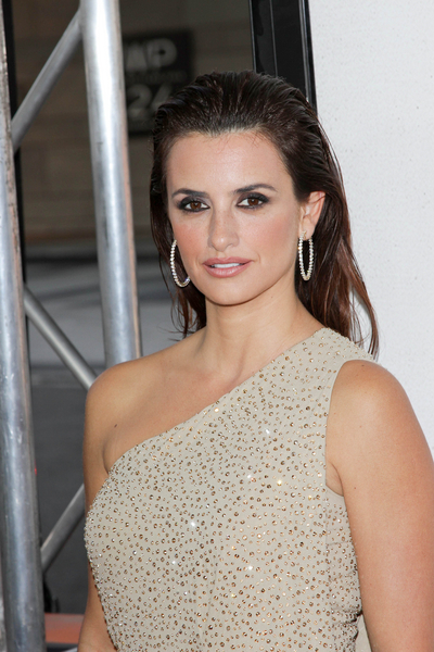 Penelope Cruz's Long, Straight, Brunette Hairstyle