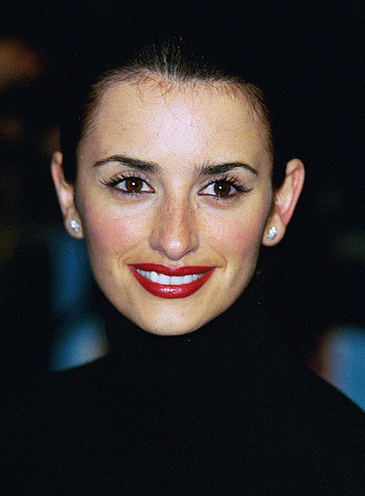 Penelope Cruz Sophisticated, Wedding Updo