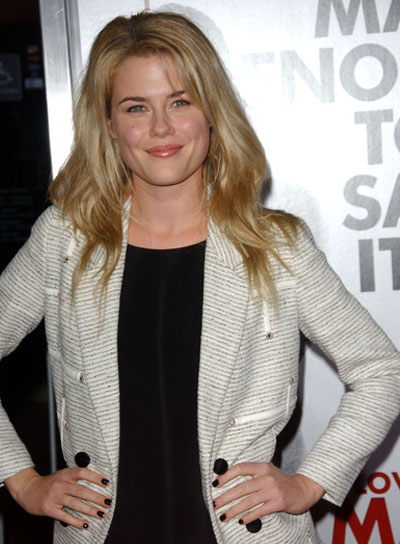 Rachel Taylor Long, Straight, Tousled, Blonde Hairstyle