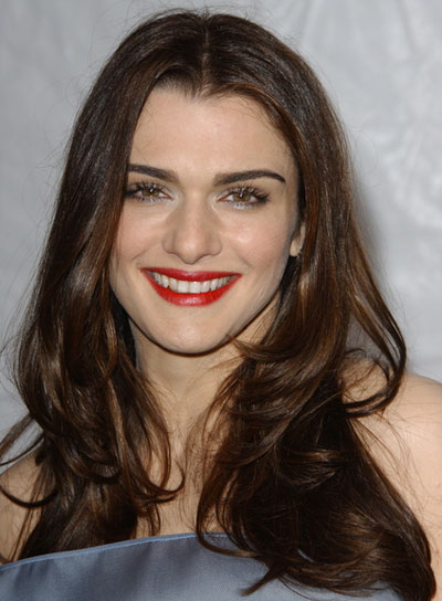Rachel Weisz's Long, Layered, Chic, Brunette Hairstyle