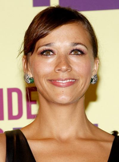 Rashida Jones' Sophisticated, Chic, Brunette Ponytail Hairstyle