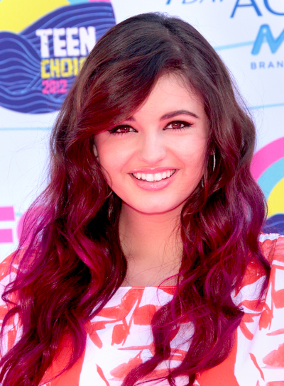 Rebecca Black's Long, Wavy, Funky, Party Hairstyle