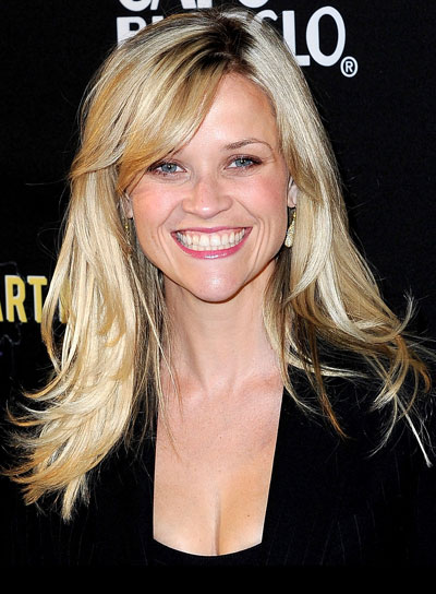 Reese Witherspoon Blonde, Tousled Hairstyle