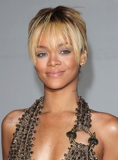 Wondrous Blonde Hairstyles With Bangs Beauty Riot Short Hairstyles For Black Women Fulllsitofus