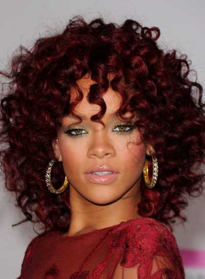 Pleasing How To Get Short Curly Hair Like Rihanna Short Hair Fashions Hairstyles For Men Maxibearus