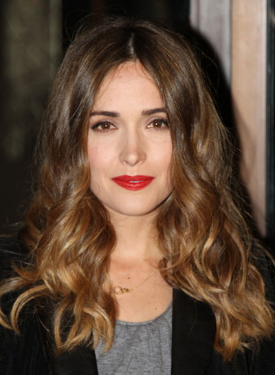 Rose Byrne's Medium, Wavy, Brunette Hairstyle