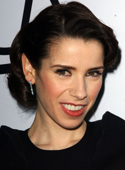 Sally Hawkins Romantic, Brunette Updo