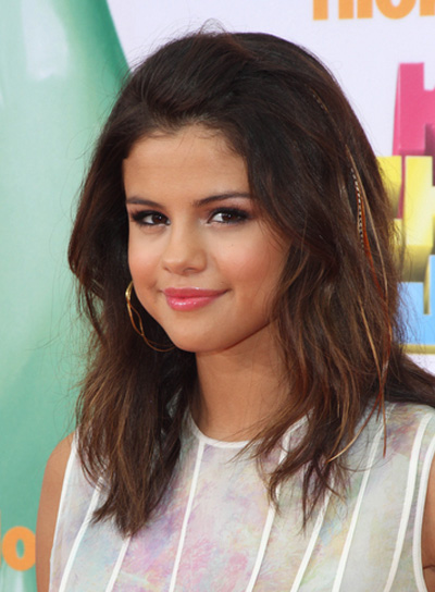 Selena Gomez Medium, Tousled Hairstyle