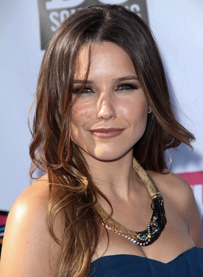 Sophia Bush Medium, Brunette Hairstyle