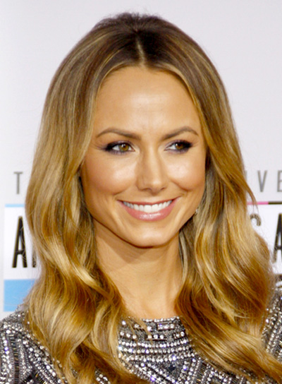 Stacy Keibler's Long, Romantic, Wavy, Chic, Hairstyle
