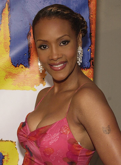 Vivica Fox Formal Updo with Braids and Twists
