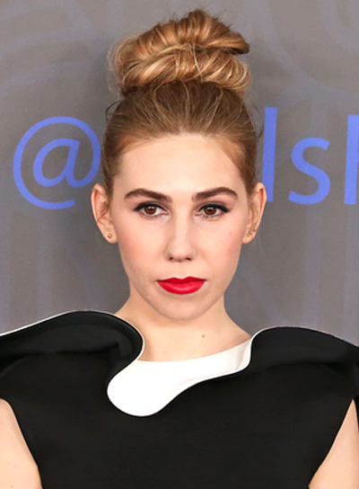 Zosia Mamet's Formal, Romantic, Chic, Updo Hairstyle